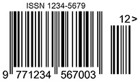 ISSN barcode