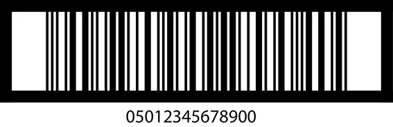 ITF-14 barcode used for outercase