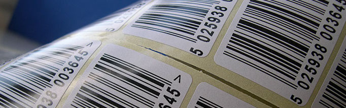 barcodes on labels